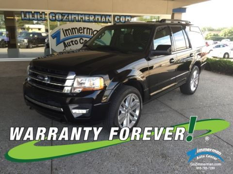 New 2016 Ford Expedition Limited 4WD