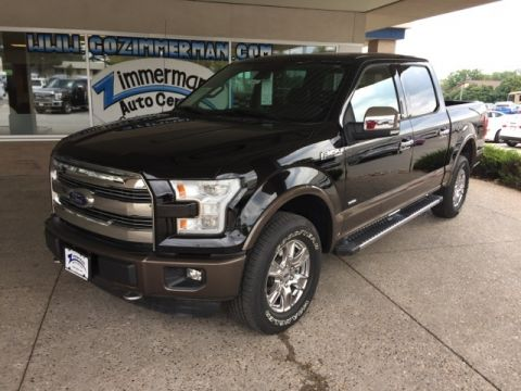 New 2016 Ford F-150 Lariat 4WD