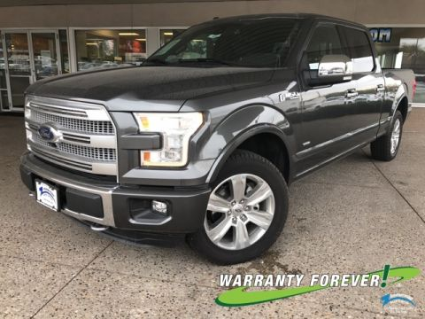 New 2016 Ford F-150 Platinum 4WD