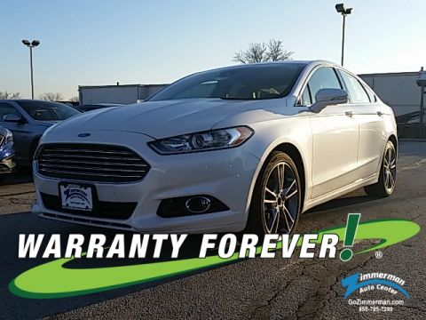 New 2015 Ford Fusion Titanium AWD
