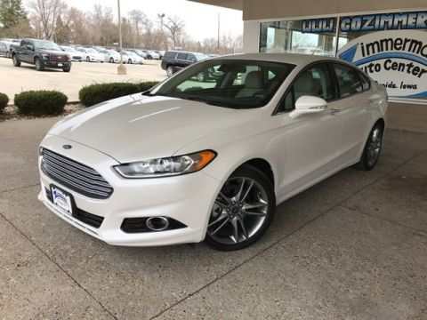 New 2015 Ford Fusion Platinum AWD