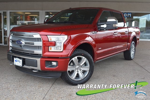 New 2016 Ford F-150 Platinum